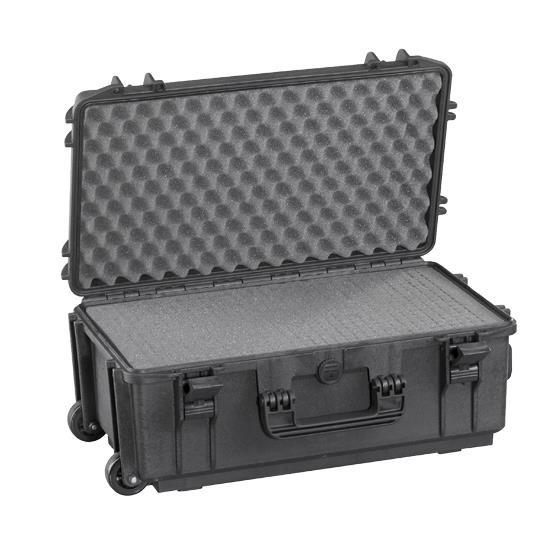 Gaffergear Case 052 zwart trolley uitvoering
