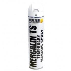 Mercalin TS tijdelijke markeringsverf - doos 12 spuitbussen