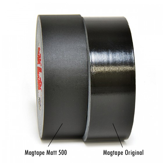 MagTape Gaffa tape 50mm x 50m - Glans en Matt - 2 rollen