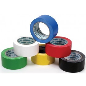 Advance AT8 PVC Vloermarkeringstape 50mm x 33m Zwart