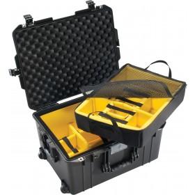 Peli Case 1607 AIR met klittenband vakverdeling