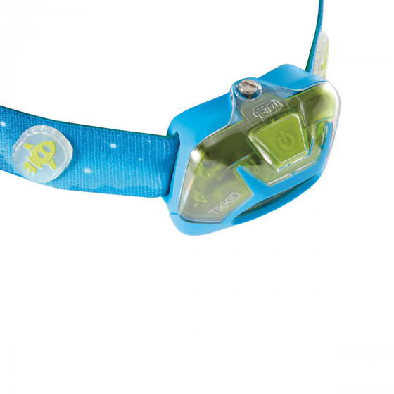 Petzl Tikkid - Blauw - Hoofdlamp voor kinderen - 20 lumen