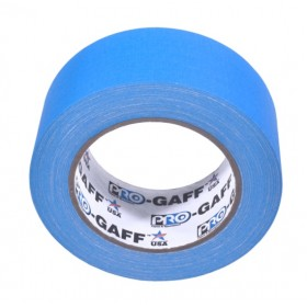 Pro-Gaff neon gaffa tape 48mm x 22,8m blauw