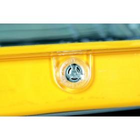 Peli Case 1010 Micro Geel/Transparant