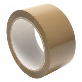 Verpakkingstape PP bruin - RL Premium - Doos 36 rollen