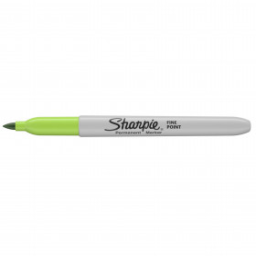 Sharpie Fine Point - permanent marker - 1mm - Lime Green