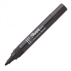 Sharpie permanent marker M15 zwart - 12 stuks