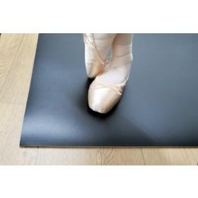 Sonata schokabsorberende dansvloer 200cm x 20m zwart