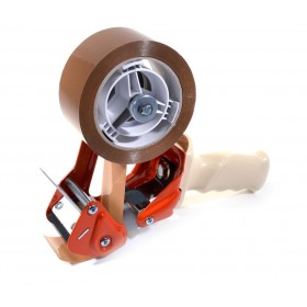 Tape dispenser 50mm luxe metalen uitvoering