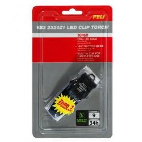 Peli VB3 2220Z1 Zone 1 LED Zwart