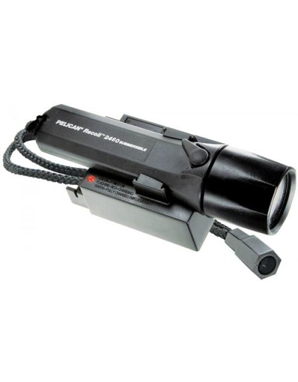 Peli 2460, 1 Watt LED oplaadbaar zwart