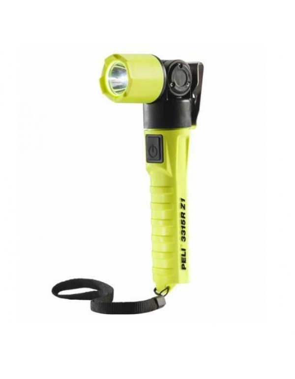 Peli 3315RZ1-RA LED Zone 1 Oplaadbare Zaklamp Haaks Geel