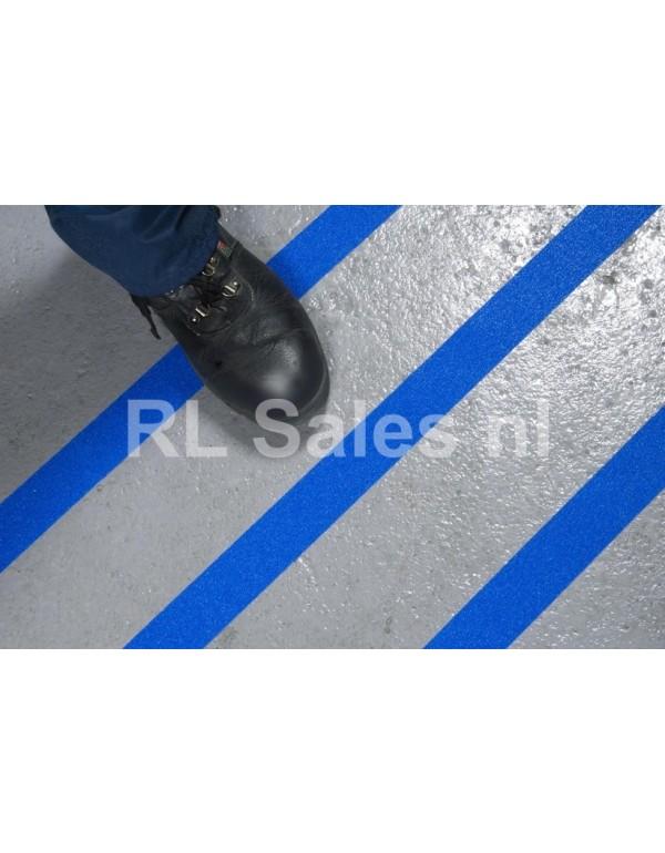 Antislip tape blauw