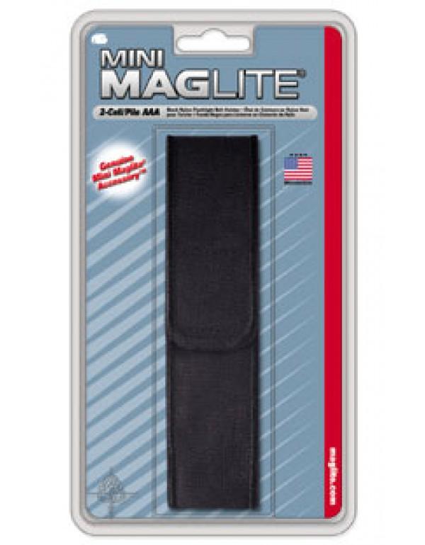 Maglite Mini AA nylon holster zwart