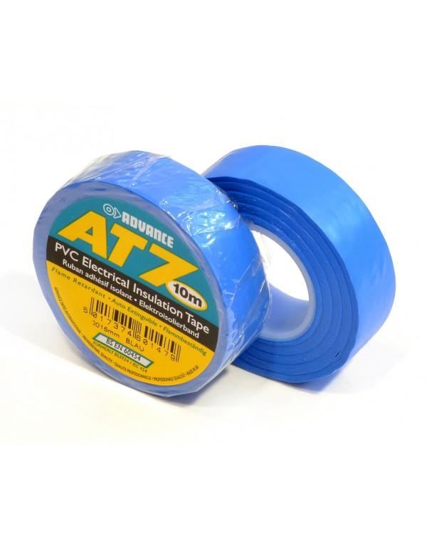 Advance AT7 PVC tape 15mm x 10m blauw