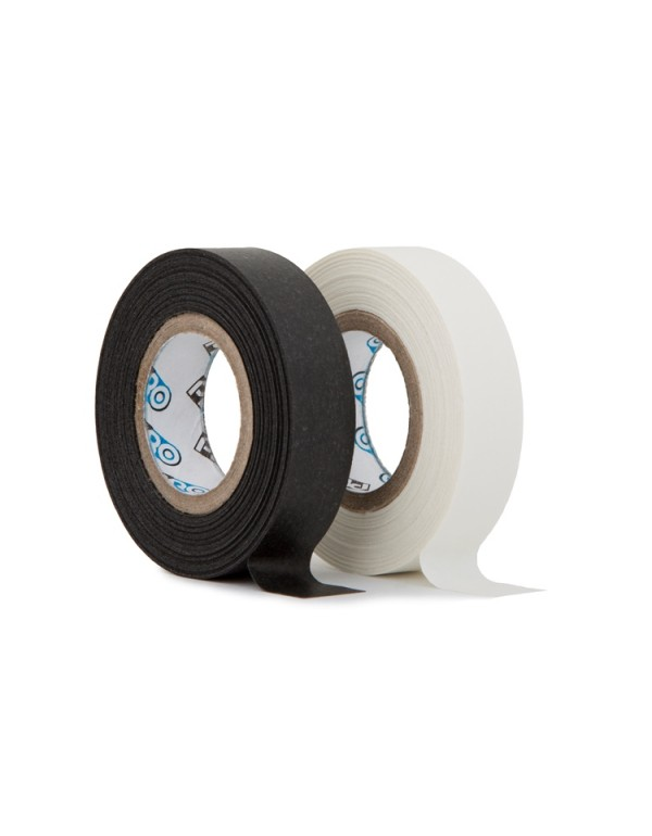 Pro paper tape mini rol 12mm x 9.2m mix zwart-wit