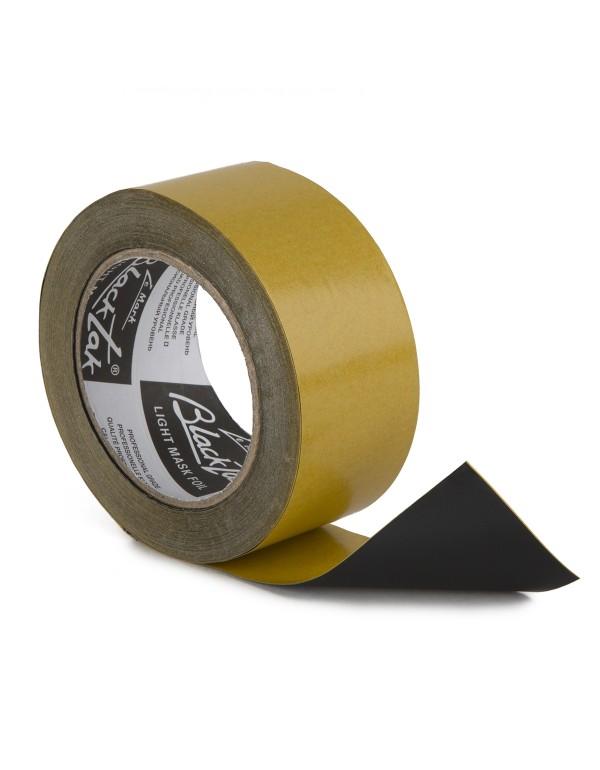 Blacktak Aluminium folie matt zwart 50mm x 25m