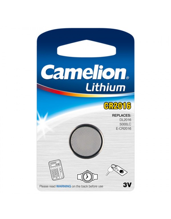 Camelion CR2016 3 Volt knoopcell / BP1