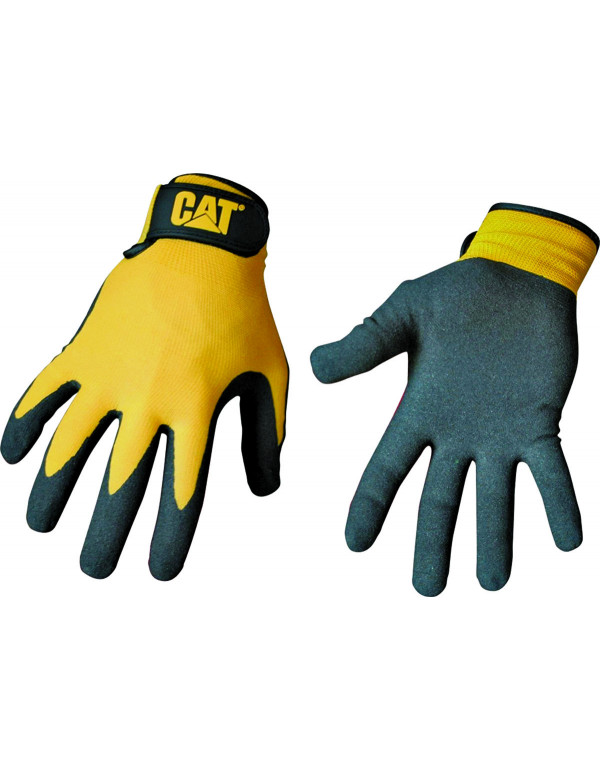 CAT String Knit handschoenen – Extra grip - L - binnen en buitenkant