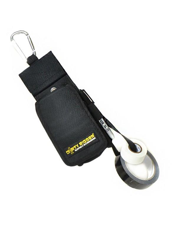 Dirty Rigger Pro Pocket XT - Pro-Gaff Pro Pocket wit - Kabeltape - Sharpie