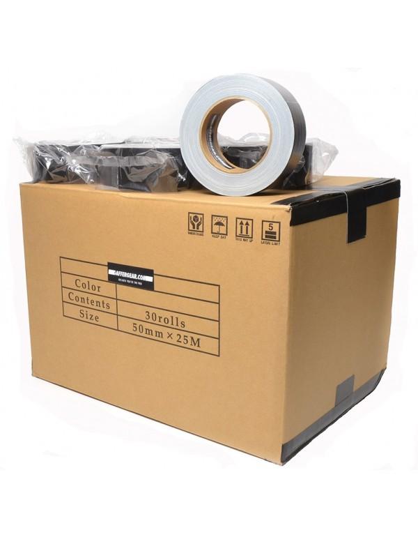 Gaffergear Gaffa tape 50mm x 25m zwart - doos 30 rollen