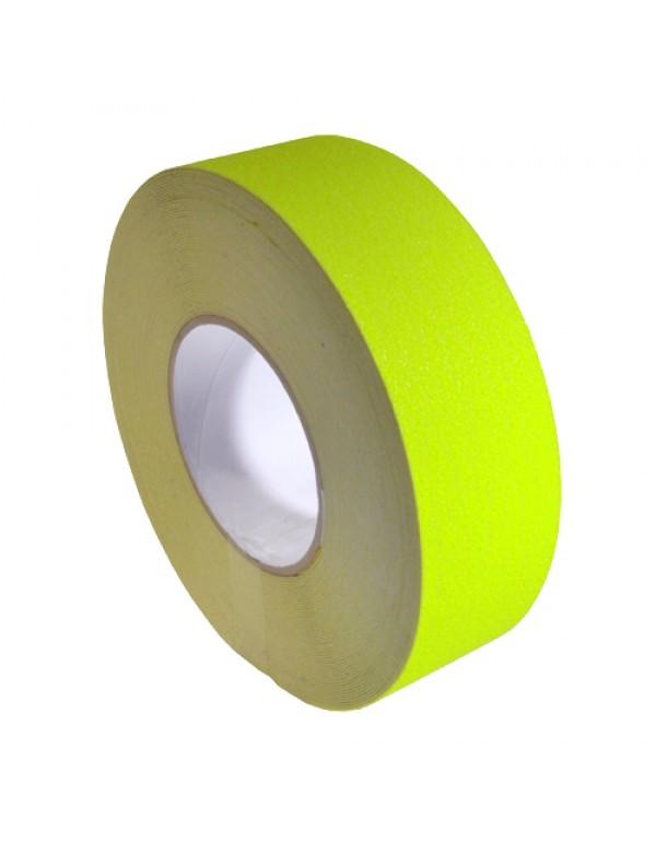 Antislip tape 50mm x 18,3m neon geel
