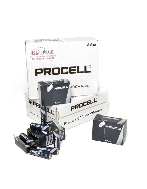 Duracell Procell doos 100 stuks