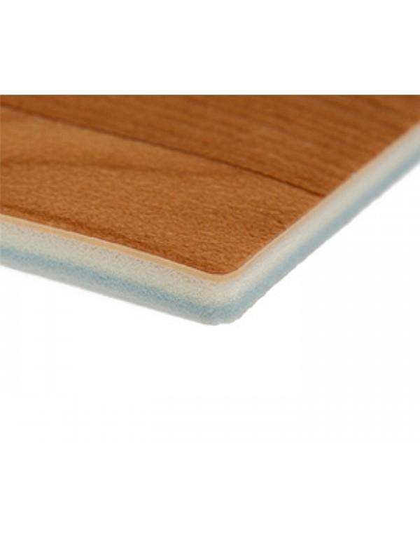 Dynamic schokabsorberende dansvloer 200cm x 15m donker hout
