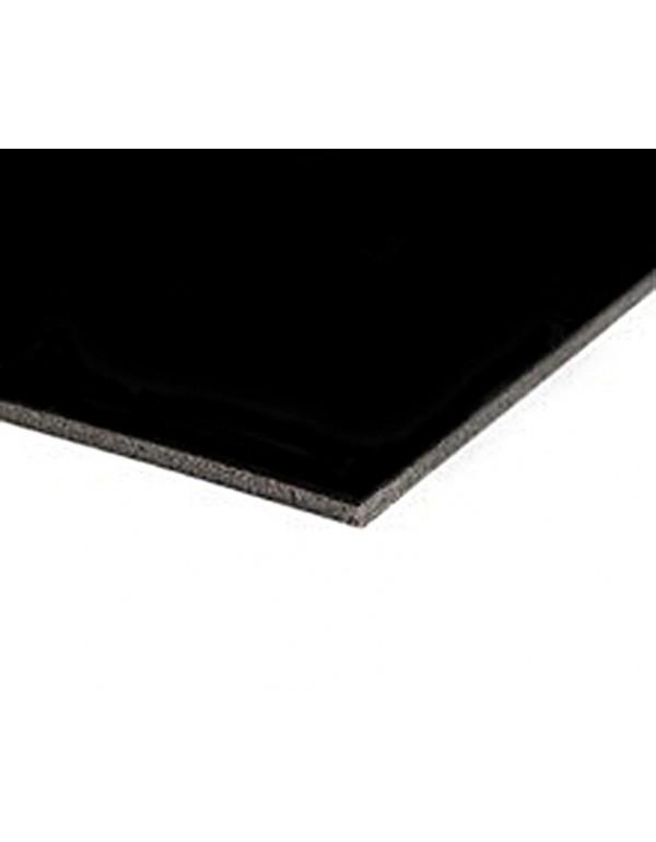 Harmony Matt dansvloer 200cm x 10m mat zwart 1991
