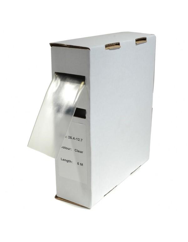 Krimpkous H-1 box 25.4 Ø / 12.7 Ø 5m transparant
