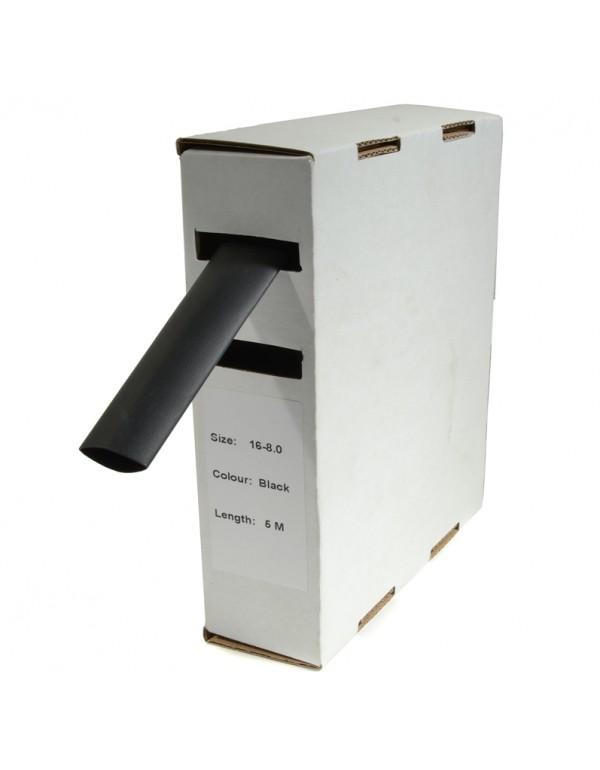 Krimpkous H-2 box 4.8 Ø / 2.4 Ø 10m zwart