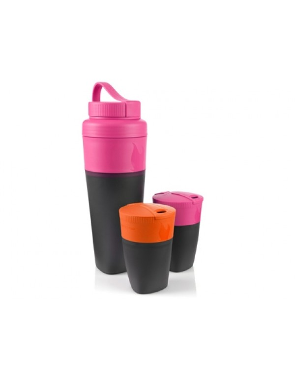 LMF Pack-up-Drink Kit Fuchsia/Orange