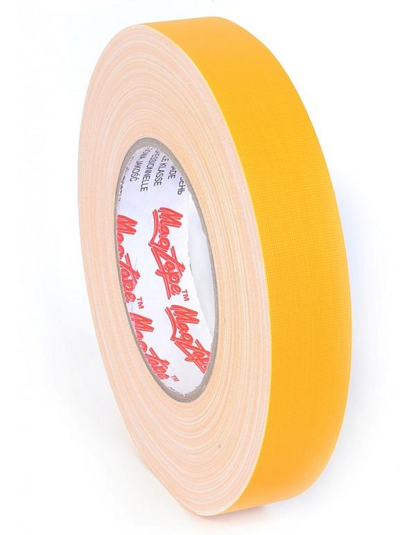 MagTape Matt 500 25mm. X 50m. Geel