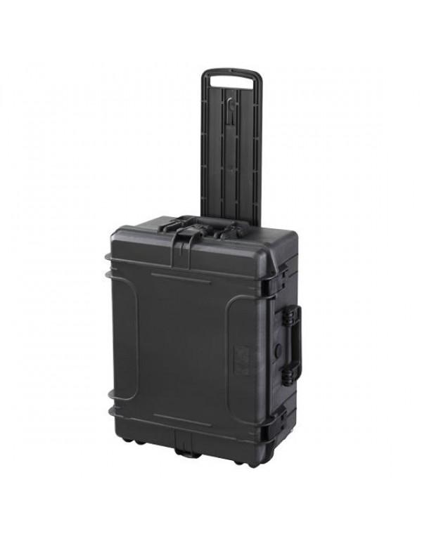 Gaffergear Case 054H zwart trolley uitvoering
