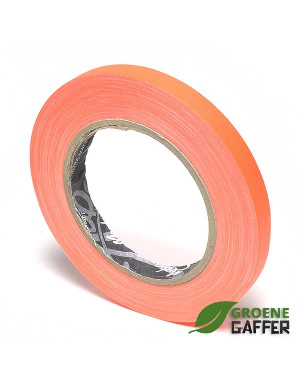 MagTape Ultra Matt Neon gaffa tape 12mm x 25m oranje