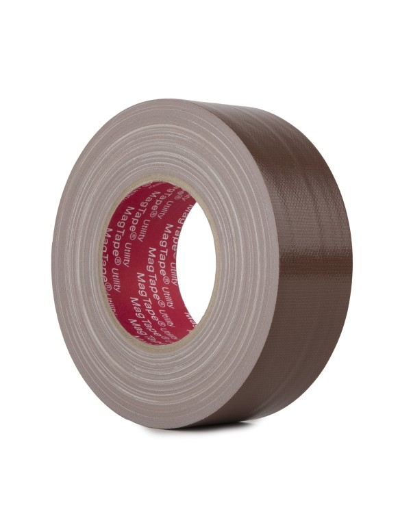 MagTape Utility gaffa tape 50mm x 50m bruin