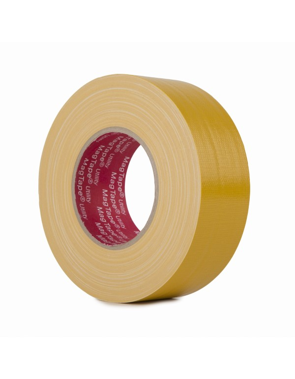 MagTape Utility gaffa tape 50mm x 50m geel