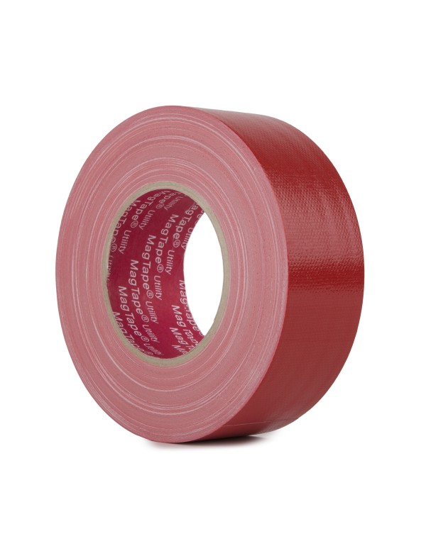 MagTape Utility gaffa tape 50mm x 50m rood