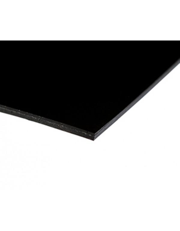 Nocturne dubbelzijdige dansvloer 200cm x 20m zwart / zwart