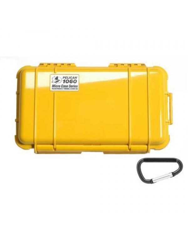 Peli Case 1060 Micro Geel/Zwart