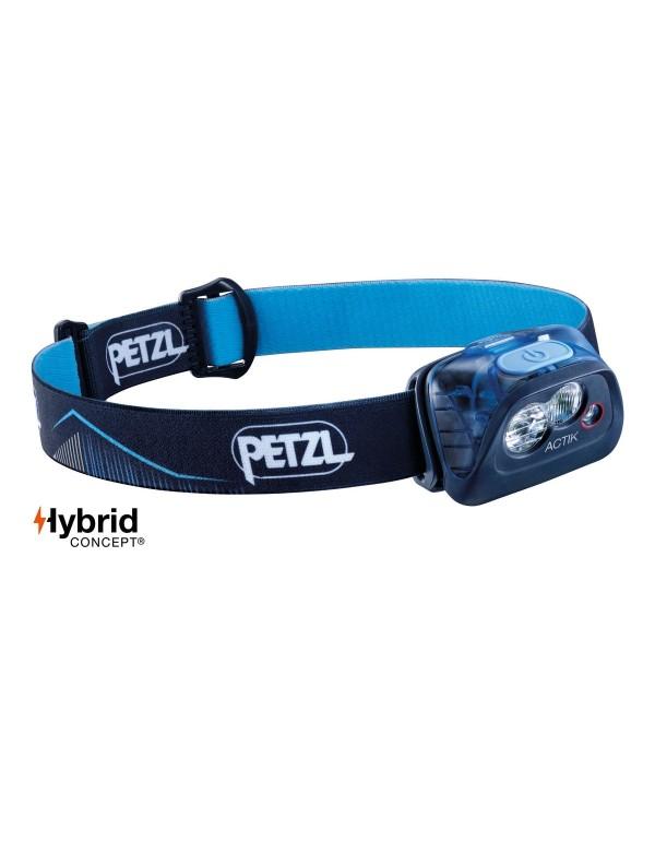 Petzl Actik hoofdlamp blauw