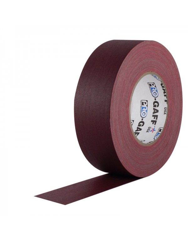 Pro-Gaff gaffa tape 48mm x 22,8m burgundy