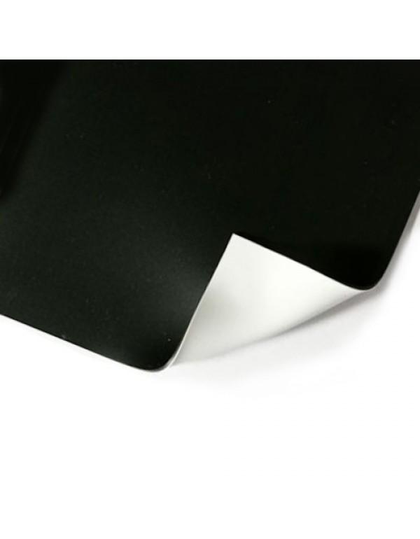Two Stage dubbelzijdige vinyl dansvloer 1,5m x 20m zwart / wit