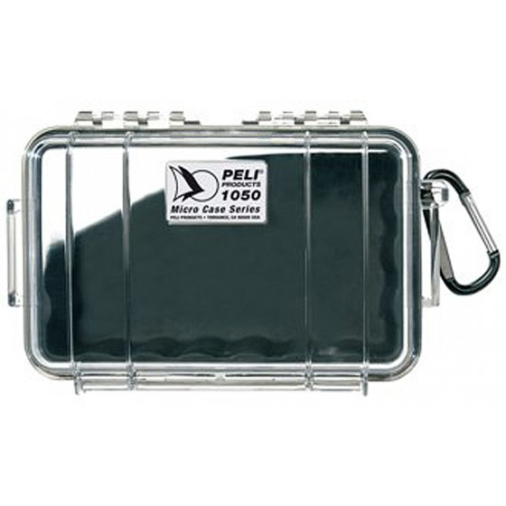 Peli Case 1050 Transparant / Zwart