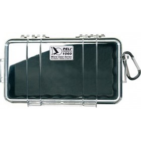 Peli Case 1060 Micro Transparant / Zwart