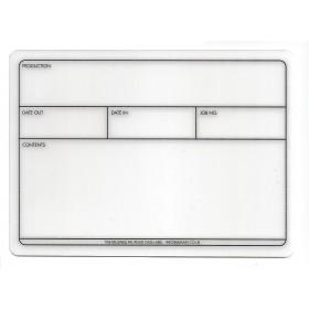 PAL flightcase label 178mm x 127mm