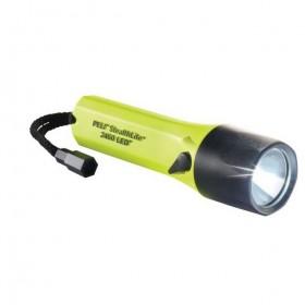 Peli Stealthlite 2460 LED Oplaadbare Zaklamp Geel