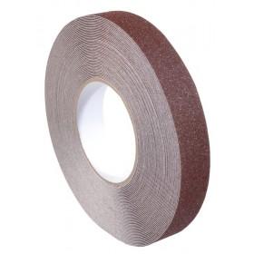 Antislip tape 25mm x 18,3m bruin