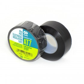 Advance AT-7 PVC tape 19mm x 10m zwart