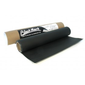 Black Mark Aluminium folie matt zwart 600mm x 7.5mm